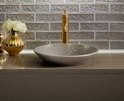 Kohler Purist Widespread Lavatory Faucet by Kohler Bathroom Sink Bathroom Faucet Set Brushed Nickel Kohler K