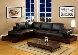 Black Leather Couch Decorating Ideas by Living Room Design Ideas Black Sofa Interior Design