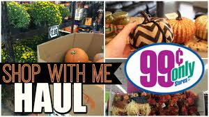 Pumpkin Carving Tools Walmart by 99 Cent Store Fall Decor Haul Halloween And Store Shopping Trip