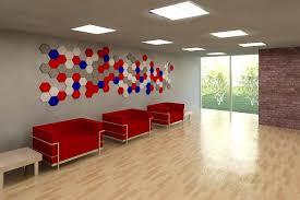 Tectum V Line Ceiling Panels by Tectum Panel Art Hexagon Wallart Panelart Acoustic Panels