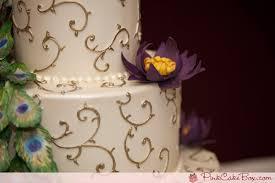 Peacock Wedding Cake  Wedding Cakes