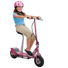 Razor E300S Sweet Pea Electric Scooter With Seat For Girls