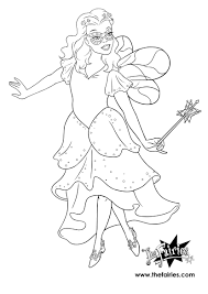 Trixie The Halloween Fairy Pages rainbow magic fairies coloring pages magic fairy coloring pages
