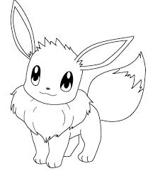 Coloringsco Pokemon Coloring Pages Eevee