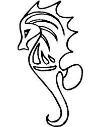 Dazzling Seahorse Coloring Page Image 7