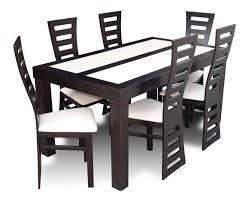 designer esszimmer garnitur stuhl polster tisch stühle set holztisch tische