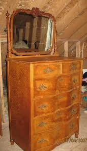 i have a birdseye maple vanity and a large dresser with two