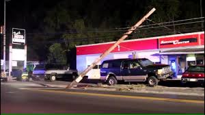 100 Utility Box Truck VIDEO Truck Takes Out Utility Poles In Bath WFMZ
