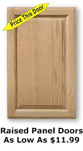 unfinished shaker cabinet doors as low as 8 99