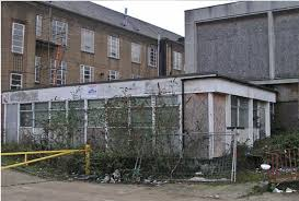100 Lambeth Hospital The Old Derelict London Garage Doors Home