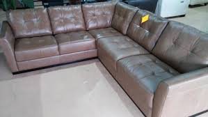 Uncategorized Cozy macy home furniture Leather Sectional Sofa