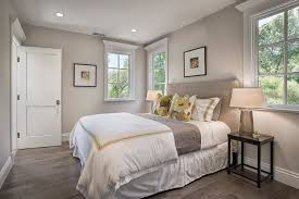 Beige Walls White Trim Bedroom Traditional With Door Bedding Wall