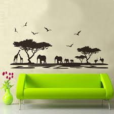 Wall Stickers African Animals