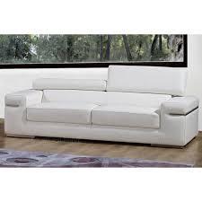 canapé sofa italien canapé 2 places en cuir italien alonso achat vente canapé