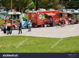 100 Food Trucks Atlanta Ga May 25 Patrons Buy Stock Photo Edit Now 141579724
