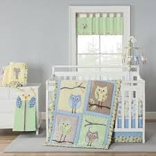Crib Bedding with Owls from Buy Buy Baby