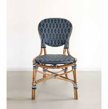 Set Of 2 Rattan Bistro Dining Chairs, Dark Blue 9363 China 2017 New Style Black Color Outdoor Rattan Ding Outdoor Ding Chair Wicked Hbsch Rattan Chair W Armrest Cushion With Cover For Bohobistro Ica White Huma Armchair Expormim White Open Weave Teak Suma With Arms Natural Hot Item Rio Modern Comfortable Patio Hand Woven Sidney Bistro Synthetic Fniture Set Of Eight Chairs By Brge Mogsen At 1stdibs Wicker Derektime Design Great Ideas Warm Rest Nature