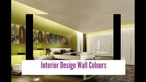 Interior Design Wall Color Combinations