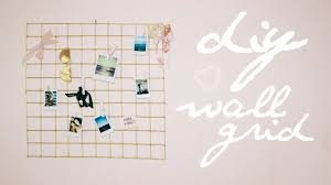 DIY Urban Outfitters Wall Grid Cheap Easy