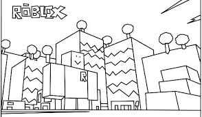 Homely Inpiration Free Roblox Coloring Pages Printable For Kids