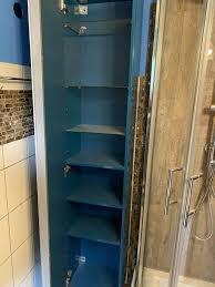ikea godmorgon hochschrank hochglanz blau türkis petrol bad