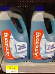 high value 2 off one armstrong floor cleaner only 2 43 at