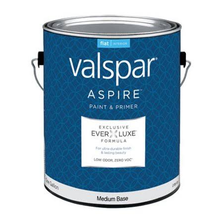 Valspar Aspire Interior Flat, Medium Base, 1 gal