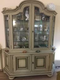 vitrine buffett geschirrschrank für wohnzimmer esszimmer edel