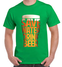 save water drink beer drinking men u0027s funny t shirt real ale