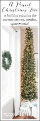 Michaels Christmas Trees Pre Lit by A Pencil Christmas Tree Style For Narrow Spaces Pencil Christmas
