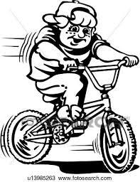 Clipart acci³n bicicleta el montar en bicicleta ciclista