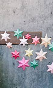 Cool Diy Paper Art Projects Learn How To Make D Stars Video Tutorial Included With