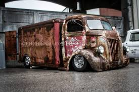 100 Chevy Box Truck Chev Chevrolet COE Cab Over Engine With A Vintage Cold Produce