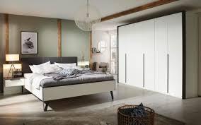 vito schlafzimmer 4014 in alpinweiß absetzung in graphit