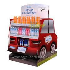 New Cardboard Pallet Display For Car Freshener High Quality