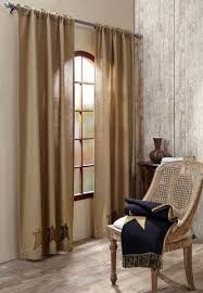 Primitive Living Room Curtains by Stratton Curtains At Primitive Star Quilt Shop