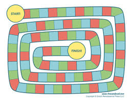 Template Blank Board Game