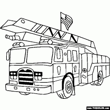 Fresh Coloring Book And Pages Excelent Fire Truck Coloring Page ...