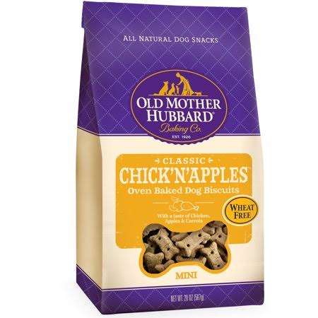 Old Mother Hubbard Classic Oven Baked Dog Biscuits - Chick' N' Apples