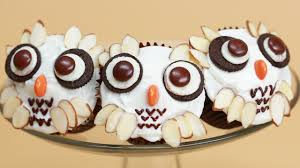 Nerdy Nummies Halloween Special by Harry Potter Owl Cupcakes Nerdy Nummies Youtube