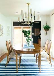Dining Room Table Rug Rugs Tips For Getting A Just Right With