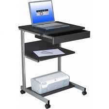 Small White Corner Computer Desk by Slim Computer Desk Small White Corner Desk Workstation Cart