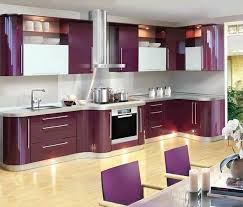 White Kitchen Design Ideas 2014 by Purple And Pink Kitchen Colors Adding Retro Vibe To Modern Kitchen