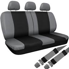 Truck Seat Covers For Dodge Ram Gray Black W/ Steering Wheel-Belt ... Covercraft F150 Front Seat Covers Chartt Pair For Buckets 200914 Katzkin Leather And Heaters Photo Image Gallery Ruff Tuff Truck Seat Seating Covers Dodge Ram Quad Cab Special Edition Darkgraphite Leather Suede 2012 3500 Reviews Rating Motor Trend Cute Car Infant Truck Batman Original For Suv Auto Interior Gift Full 2011 Camo Best Of Canvas Realtruck 2005 Black Softouch Kryptek Typhon Cover Pets Khaki Pet Accsories Formosacovers