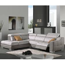 lambermont canapé canapé d angle gris en tissu malaga sofamobili