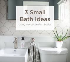 3 Small Bathroom Ideas Using Moroccan Fish Scales – Mercury Mosaics 32 Best Small Bathroom Design Ideas And Decorations For 2019 10 Modern Dramatic Or Remodeling Tile Glass Material Innovation Aricherlife Home Decor Awesome Shower Bathrooms Archauteonluscom Bathroom Paint Master Toilet Small Ideas Suitable Combine With White Lovable Designs For Italian 25 Beautiful Diy Remodel Tiles My Layout Vanity On A Budget Victorian Plumbing Stylish Apartment Therapy