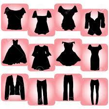 Fashion Clipart Womens Clothing 4