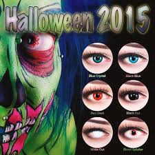 Cheap Fda Approved Halloween Contacts by Details Zu Cat Eye Contact Lenses Green White Red Blue Colored Cat