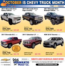 October Is Chevy Truck Month, Mankato Motor Co This Retro Cheyenne Cversion Of A Modern Silverado Is Awesome Up To 13000 Off Msrp On A New 2017 Chevy 15 803 3669414 2018 Chevrolet 2500hd Ltz 4wd In Nampa D180644 Specials Lynch Family Of Dealerships 3500hd Riverside Moss Bros Any Rebates On Trucks Best Truck Resource Used Cars Suvs At American Rated 49 Near Baltimore Koons White Marsh 1500 Lt Crew Cab Pickup Austin Save Big 2016 Blackout Edition Youtube Steves Chowchilla Your Fresno Vehicle Source Jasper Gator