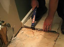 Tiling A Bathroom Floor On Concrete by How To Remove A Tile Floor How Tos Diy